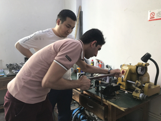 2018 Rigid Endoscope Repair Training for Iranian Friend