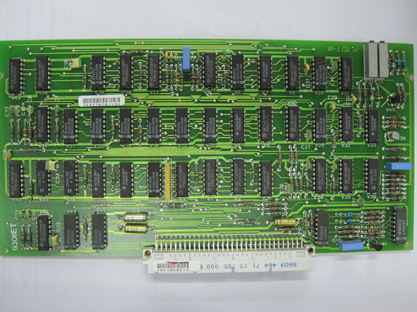 Maquet SV900C PC757 clock control board