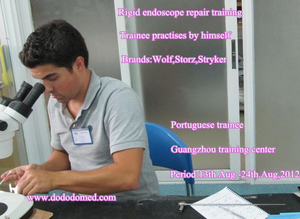 rigid endoscope repair training (Middle and Advanced course)