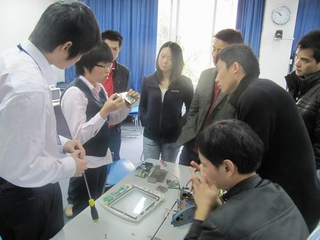 Patient Monitor Repair Training (Middle)